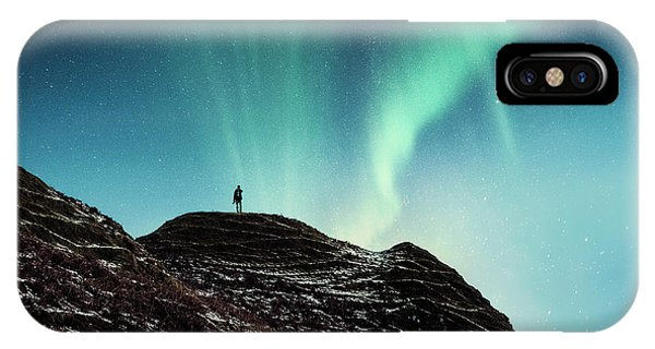 Northern Scotland iPhone Case - Astral Excursion by Evelina Kremsdorf