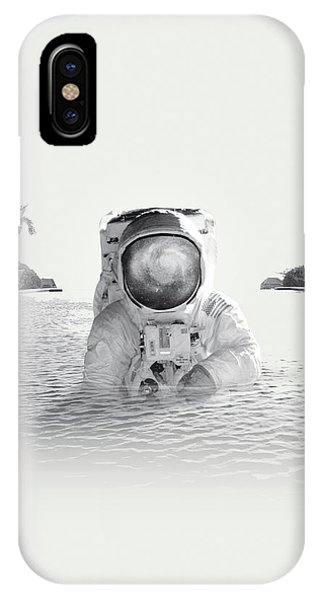 Space iPhone Case - Astronaut by Fran Rodriguez