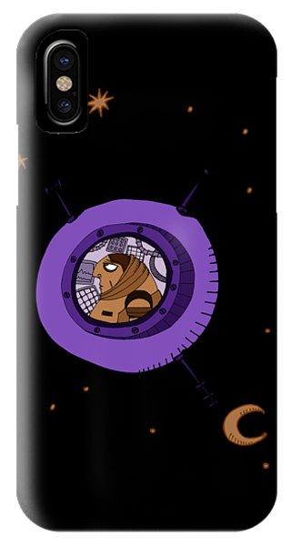 Astronaut In Deep Space IPhone Case