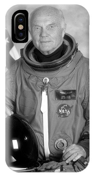 Astronaut John Glenn - 1998 IPhone Case