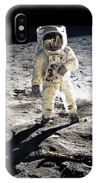 Career iPhone Case - Astronaut by Photo Researchers
