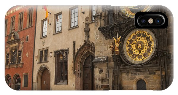 Astronomical Clock In Old Prague IPhone Case