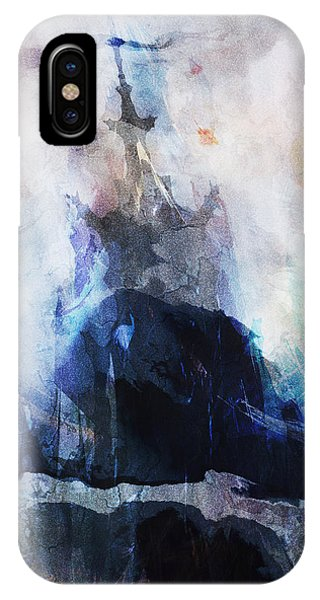 At 65 Degrees South IPhone Case