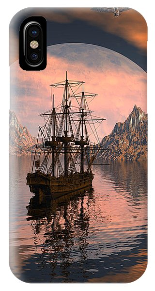 At Anchor IPhone Case