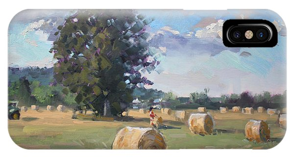 Georgetown iPhone Case - At Cathy's Farm Georgetown by Ylli Haruni