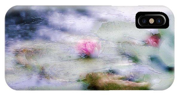 At Claude Monet's Water Garden 12 IPhone Case