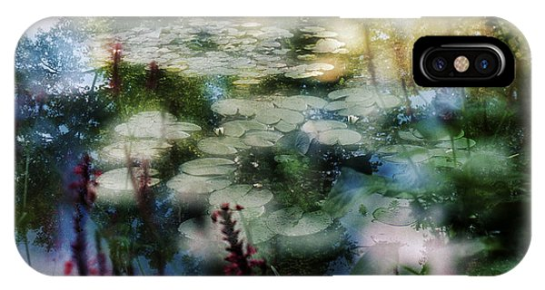 At Claude Monet's Water Garden 2 IPhone Case