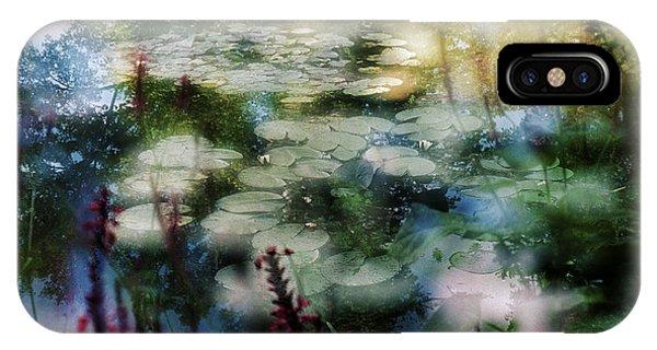 At Claude Monet's Water Garden 2 IPhone Case