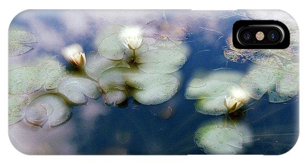 At Claude Monet's Water Garden 4 IPhone Case