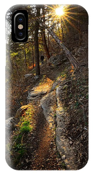 At Peace With Yourself - Bella Vista Arkansas IPhone Case