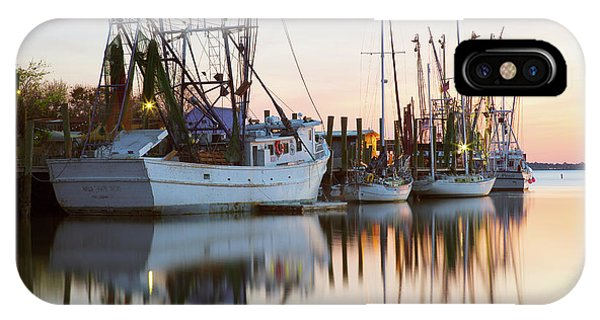 At Rest - Shem Creek IPhone Case