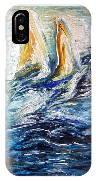 At Sea IPhone Case