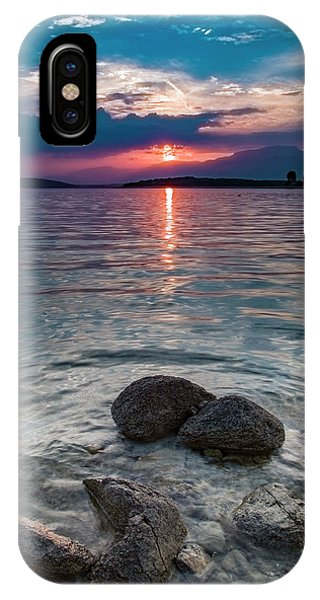 At Sunset On The Shoreline IPhone Case