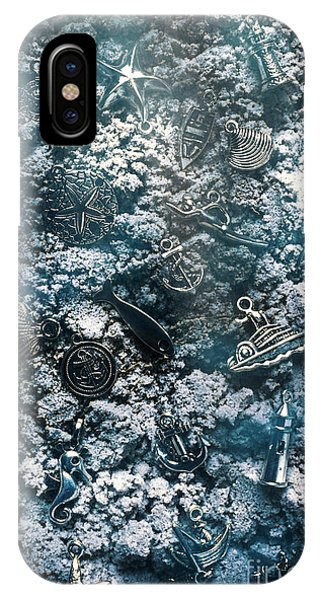 Sea Floor iPhone Case - At The Bottom by Jorgo Photography - Wall Art Gallery