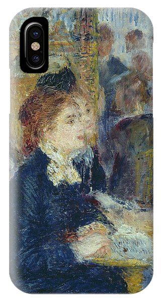 1877 iPhone Case - At The Cafe by Pierre Auguste Renoir