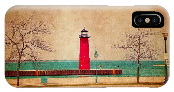 At The Harbor IPhone Case
