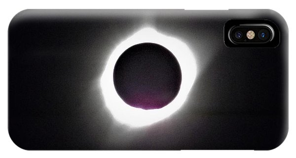 At The Moment Of Totality IPhone Case