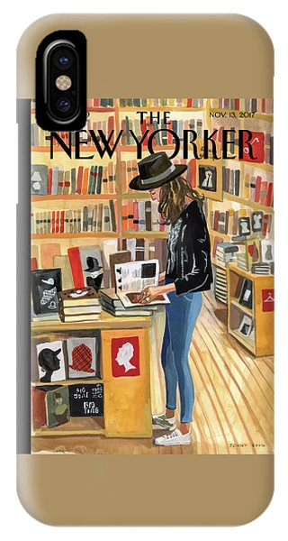 Reading iPhone Case - At The Strand by Jenny Kroik