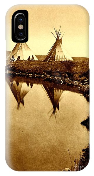 At The Waters Edge 1910 IPhone Case