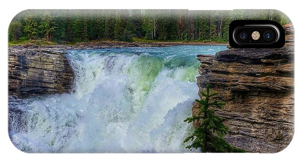 Athabasca Falls, Ab  IPhone Case