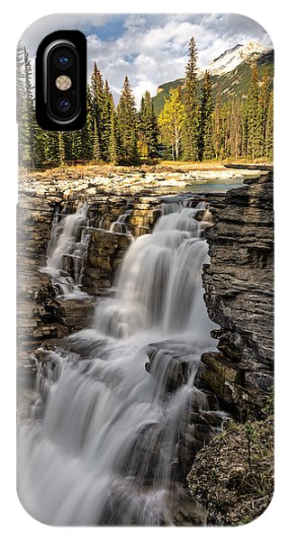 Athabasca Falls IPhone Case
