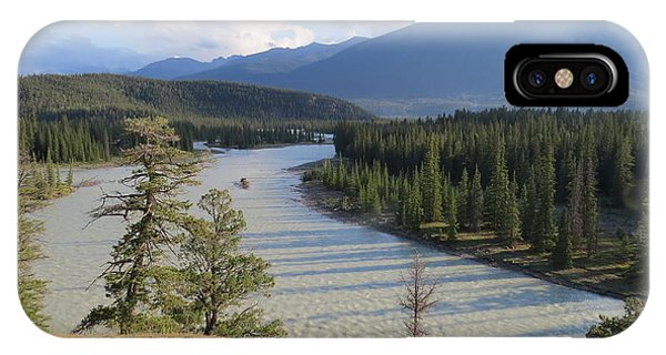 Athabasca River - Jasper IPhone Case