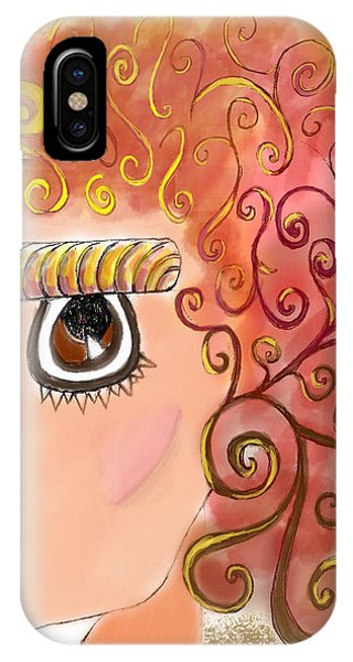 Athena In The Mirror IPhone Case