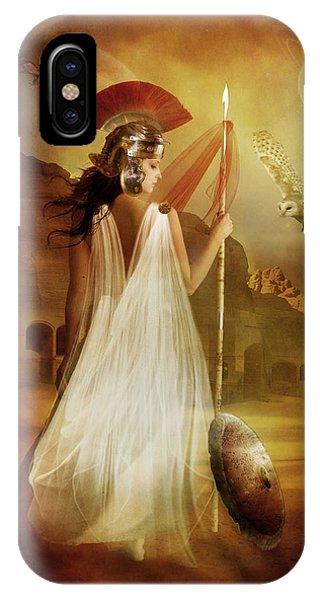 Myth iPhone Case - Athena by Karen Koski