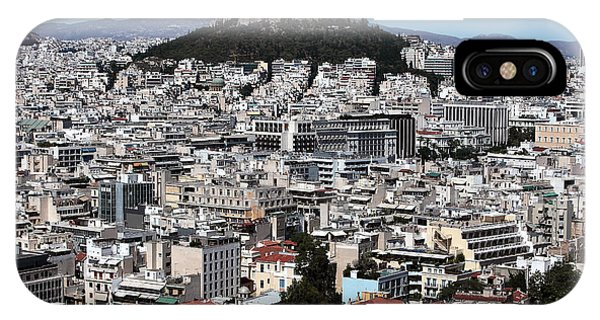Athens City View IPhone Case