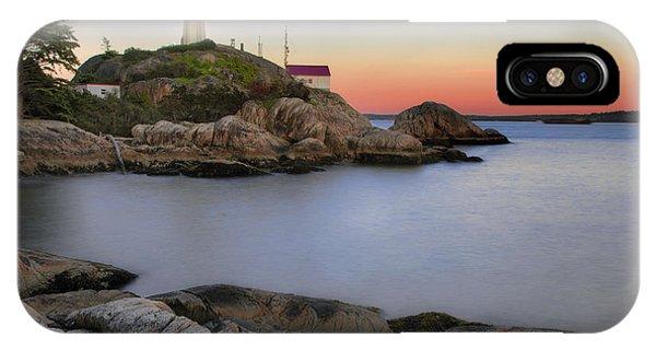 Atkinson Point Lighthouse IPhone Case