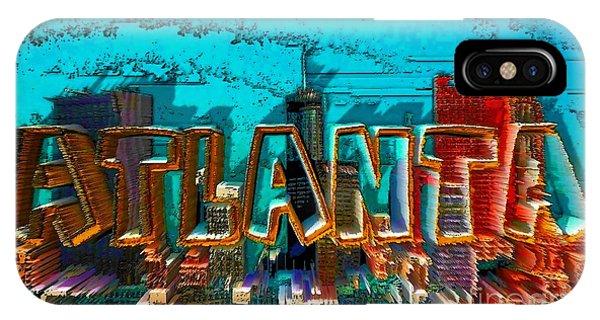 Atlanta 2016 By Nico Bielow IPhone Case