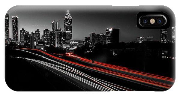Atlanta Black And White IPhone Case