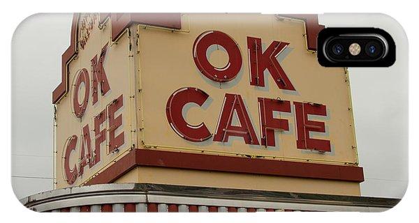 Atlanta Classic Ok Cafe Atlanta Restaurant Art IPhone Case