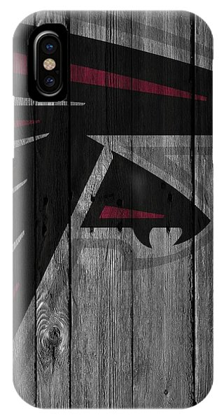 Atlanta Falcons Wood Fence IPhone Case