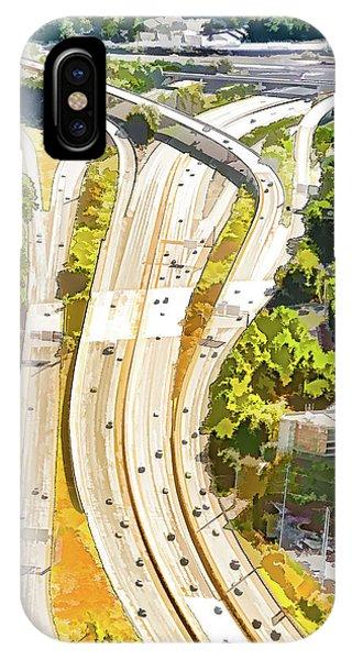 Atlanta Highways IPhone Case