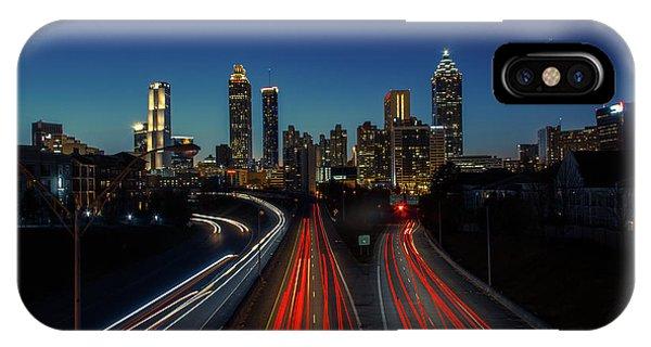 Atlanta Skyline 1 IPhone Case
