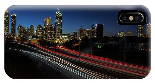 Atlanta Skyline 2 IPhone Case