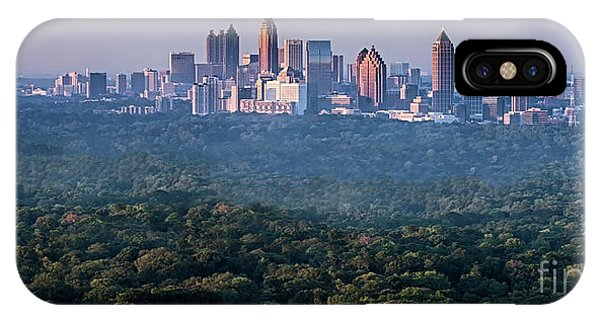 Condo iPhone Case - Atlanta Skyline by Doug Sturgess