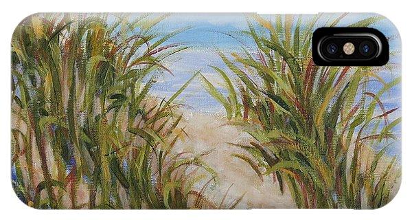 Atlantic Dunes IPhone Case