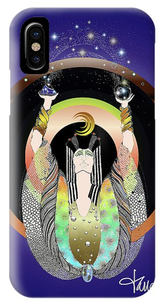 Atlantis - Copper Ring Energy Alchemy IPhone Case
