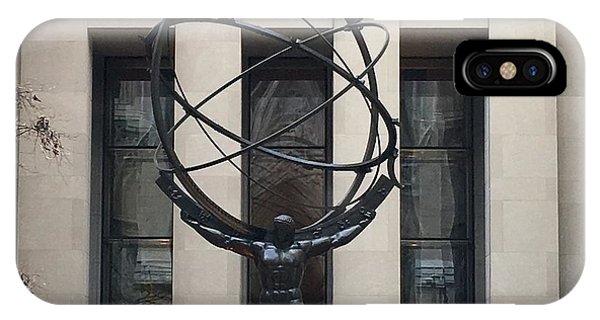 Atlas Statue IPhone Case