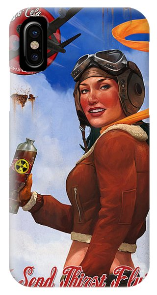 Atom Bomb Cola Send Thirst Flying IPhone Case
