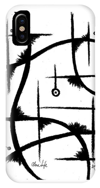 iPhone Case - Atom Life by Arides Pichardo