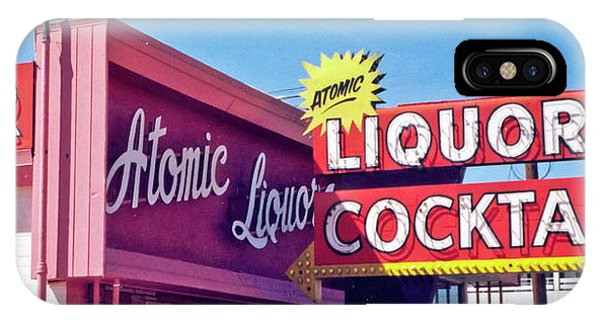 Atomic Liquors IPhone Case