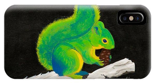 Atomic Squirrel IPhone Case