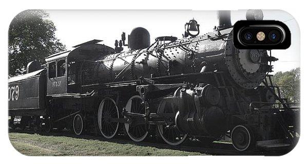 Atsf 2-6-2 Locomotive 1079 Diminished IPhone Case