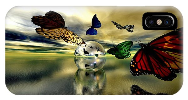 Attraction Phone Case by Sandra Bauser Digital Art