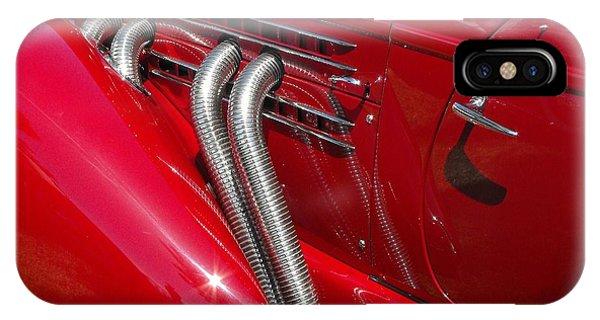 Auburn Speedster IPhone Case