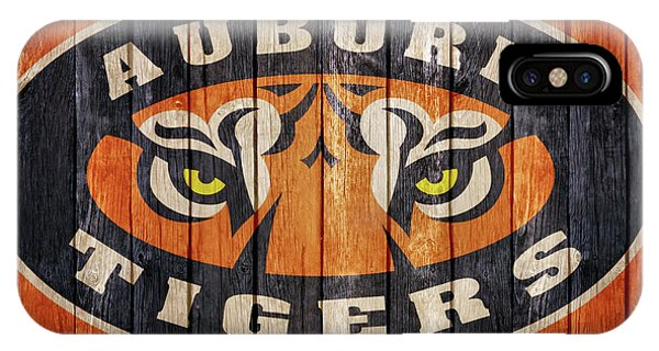 Auburn Tigers Barn Door IPhone Case