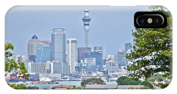 Auckland City C B D IPhone Case